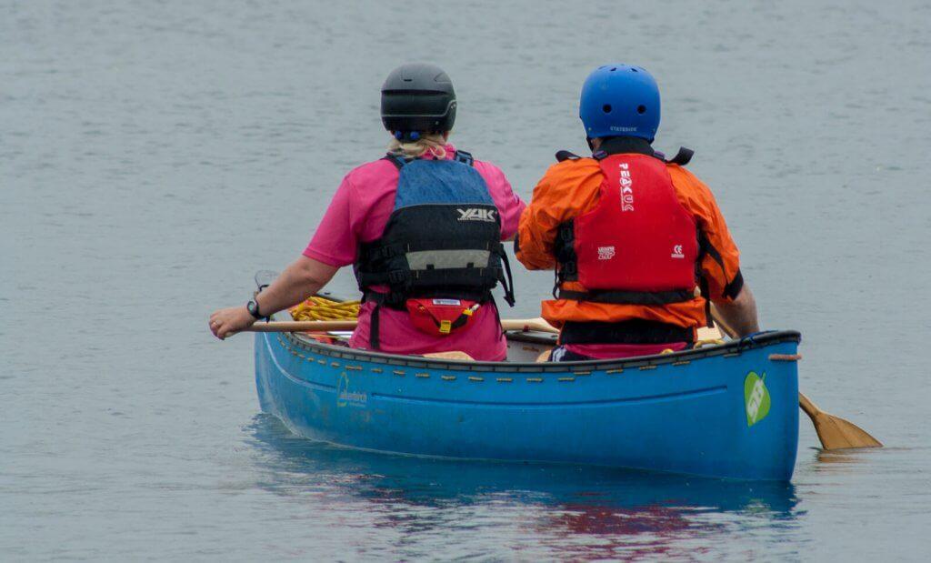 Canadian canoe 2 people